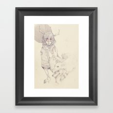 In Sheeps Clothing Framed Art Print