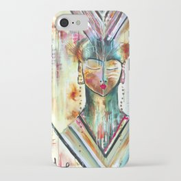 """Trust Inside"" Original Painting by Flora Bowley iPhone Case"