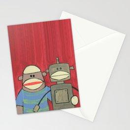 Sock Monkey 221 Stationery Cards