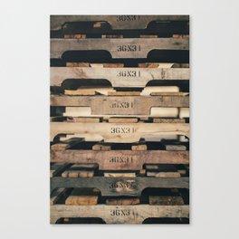 SHADES OF WOOD  Canvas Print