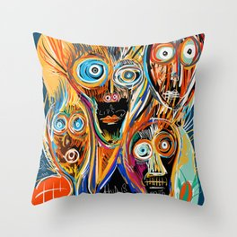 This is our soul Street Art Graffiti Throw Pillow