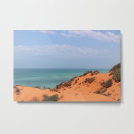 Skipjack Point, Francis Peron National Park Metal Print