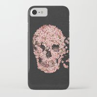bar iPhone & iPod Cases featuring A Beautiful Death  by Terry Fan