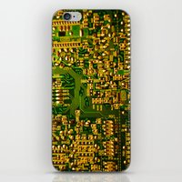 tv iPhone & iPod Skins featuring Television by StevenARTify