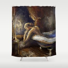 The Burnout. Shower Curtain