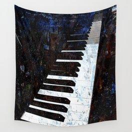 Piano Modern art Wall Tapestry