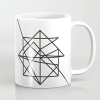 the wire Mugs featuring Wire by FLATOWL