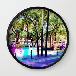 Set your mind at ease as you muster all a fluster. Wall Clock