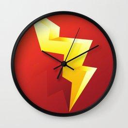 lighting energy Wall Clock