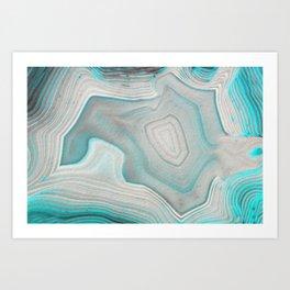 AGATE BEAUTY Art Print