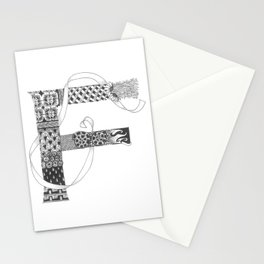 "Zenletter ""F"" Stationery Cards"