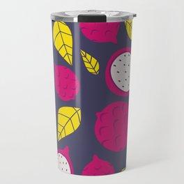 Pink Dragonfruits Travel Mug