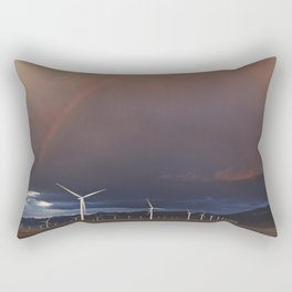 Rainbow in Nevada Rectangular Pillow