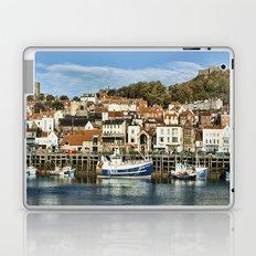 Scarborough Harbour Laptop & iPad Skin