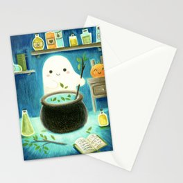 Ghost and potions Stationery Cards