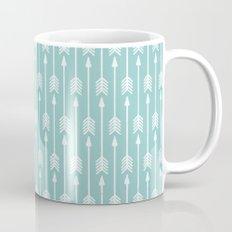 Blue Arrow Mug