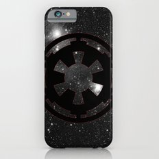 Cosmic Galactic Empire in Black White and Red Slim Case iPhone 6s