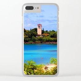 Beautiful Waimea Bay Clear iPhone Case