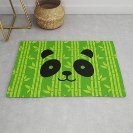 Evergreen Bamboos with Panda Rug