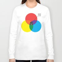 dark side Long Sleeve T-shirts featuring Dark Side by I Love Doodle