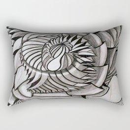 EL TIEMPO PASO Rectangular Pillow
