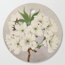Cascade Fragrance Cherry Blossoms Cutting Board