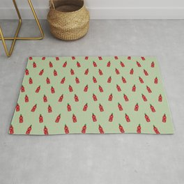 Chilly Hot Sauce Rug