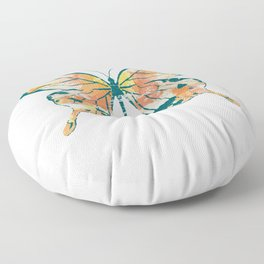 Butterfly Flying Animal Floor Pillow