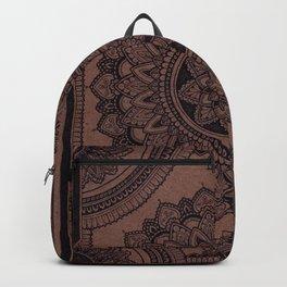 Mandala on Masonite I Backpack