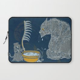 Vision of the Ninth Life Laptop Sleeve