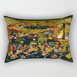 Vintage poster - London Rectangular Pillow