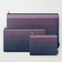 Visions of Sugar Plums Ombre Carry-All Pouch