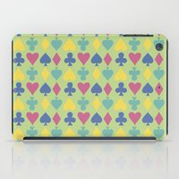 suits iPad Cases featuring Suits by M. Noelle Studios