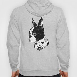 Dog - Tattooed BostonTerrier Hoody