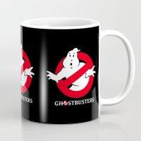 ghostbusters Mugs featuring Ghostbusters by IIIIHiveIIII
