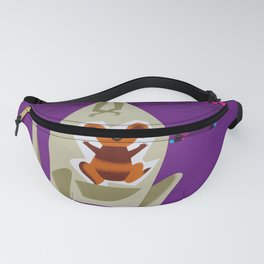 New Zealand - Vintage Airline Poster Fanny Pack