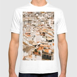 View on Mijas, Spain | Fine art travel | Art in Europe | Photography print for on the wall T-shirt