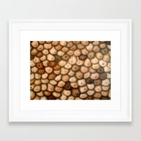 boob Framed Art Prints featuring Decisions, Decisions / Boob Painting by Heather Buchanan