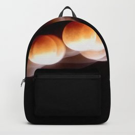 Super Blue Blood Moon Trails Backpack