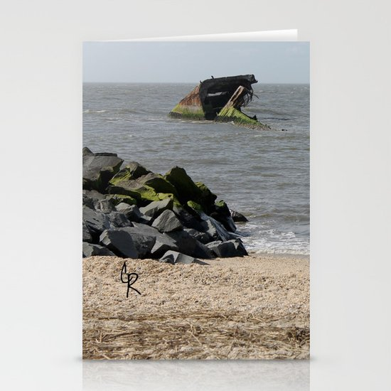 Cement Ship Stationery Cards