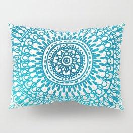 Radiate in Teal + Emerald Pillow Sham
