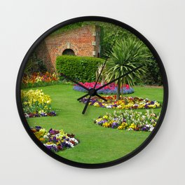 Castle Park Gardens Wall Clock