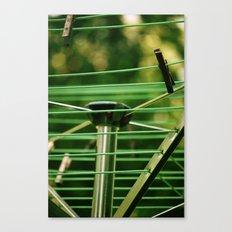 Dry Off Canvas Print
