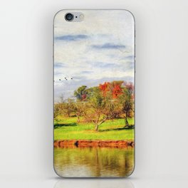 Across the Pond iPhone Skin