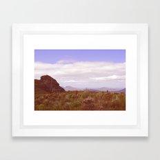 Stirling Ranges Framed Art Print