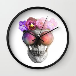 "Mortem in Gloria ""Helbi"" Wall Clock"