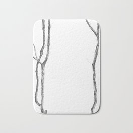 trees for the forest Bath Mat