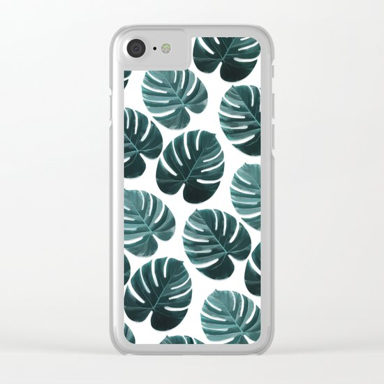 LEAVES 2 Clear iPhone Case