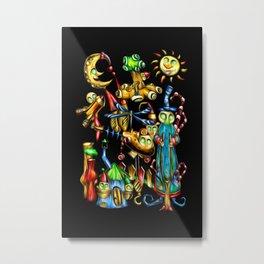Fable fun illustration artwork design drawing crazy Metal Print
