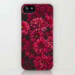 Painting The Flowers Red iPhone Case